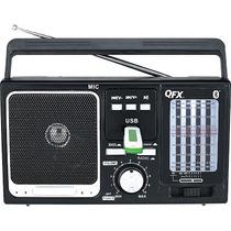 Radio Multibanda, Bluetooth Y Reproductor De Memorias Usb