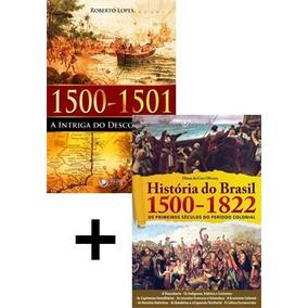Kit Livro Discovery História Brasil Descobrimento 1500 1822