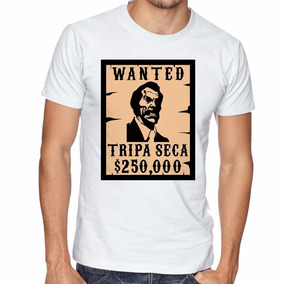 Camiseta Seu Madruga Tripa Seca Blusas Manga Curta Tamanho