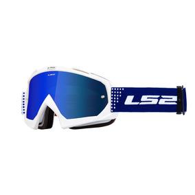 Antiparra Motocross Ls2 Oficial Dots Blanco Mx