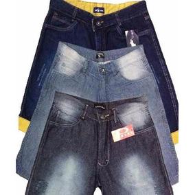 Kit 5 Bermudas Jeans Masculinas Atacado Revenda E Lucre