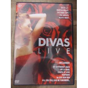 Dvd Divas Live Nacional Ótimo Estado Fete De R$8,00