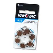 Pilas Para Audífono Rayovac Blister 6un