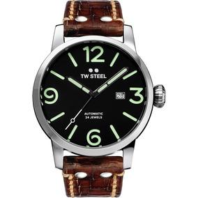 Tw Steel Maverik Automatic 48mm Vintage Reloj Ms16 Diego Vez