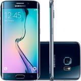 Smartphone Samsung Galaxy S6 Edge G925i 32gb Preto (vitrine)