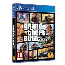 Jogo Gta 5 Grand Theft Auto V Ps4 Mídia Física Lacrado