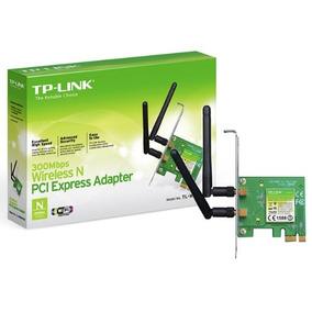 Tarjeta Red Wifi Pci Express 300mbps Wn881nd Gtia Tp-link Mi