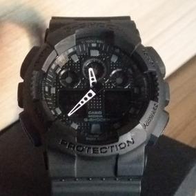 0bdc1ab4e6b Relogio G Shock Ga 100 Esportivo Masculino - Relógios De Pulso no ...