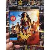 4k Wonder Woman + Blu Ray Somos Cine 3d Manía
