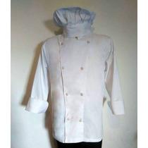 Chaqueta De Cocinero Chef Profesional Unisex Oferta