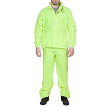 Traje De Lluvia Ls2 Rainsuit Nador Verde Fluor Talle 4xl