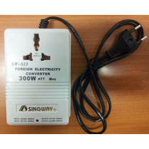 Convertidor De Voltaje De 300 W 110v A 220v - 220v A 110v