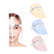 Mascara Led Facial Tratamiento Confortable Acne Luces Foton