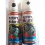 Pintura Spray Para Motor Negro Alta Temperatura