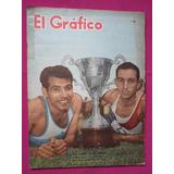Revista El Grafico N° 2153 Fiat 1100 - Dep. Español Campeon