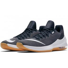 e04afa1b6 Tênis Nike Air Max Infuriate 2 Low Azul Basquete Original!