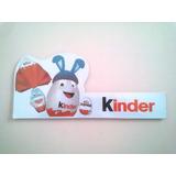 Publicidad Huevo Kinder Sorpresa Pascuas - Almacen Negocio