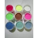 15 Acrilicos De Color Decoracion De Uñas De 7 Grs Cada Uno