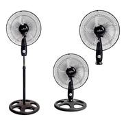 Ventilador 3 En 1 Kacemaster 20  - Pie - Pared - Mesa - 150w