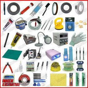 Kit Profissional Bancada Manutenção Celular C/ 28 Produtos