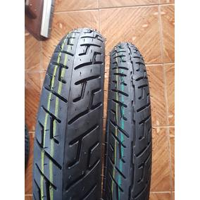 Pneu Moto 2.75/18 + 100/90-18 Remold Strada Titan 125 150