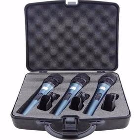 Microfone Profissional Kadosh K3.1 Kit C/ 3 Pcs