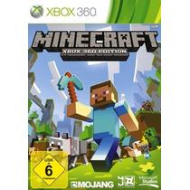 Jogo Minecraft Xbox 360 Edition Midia Fisica Novo Lacrado