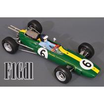 F1 Jim Clark Campeon Mundial De 1965 Lotus 25 Spark Esc 1/18