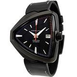 Hamilton Ventura Elvis80 Automático Negro Dial Reloj De Cue