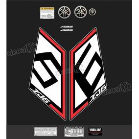 Kit Adesivo Emblema Yamaha Xj6 Sp Xj6sp01