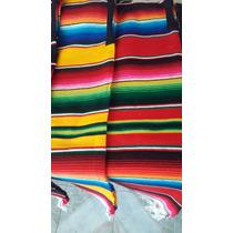 Jorongo Gaban Mexicano Artesanal Sarape De Saltillo