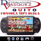 Mp5 Consolapsp 8gb Mp4 Mp3 Camara Digital Videos Juegos