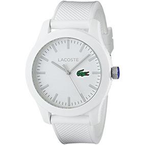 669a9eb625db Lacoste L2.12 Blanc (caballero) - Reloj de Pulsera en Mercado Libre ...
