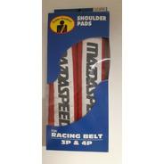 Almohadillas Rojas Cinturon Mazdaspeed Seguridad Racing Bel