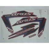 Kit Adesivos Honda Nxr 150 Bros Esd 2012 Vermelha