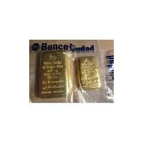Lingote Banco Ciudad De Oro 100 Gramos Dlisjoyeria