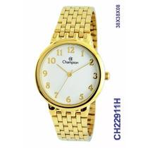 Relógio Champion Folheado A Ouro Ch22911h O R I G I N A L