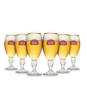 Copas Stella Artois 330ml Pack X6