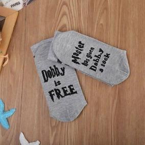 Cacetas Dobby Libre, Calcetines Harry Potter Socks Free 2par