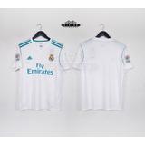 Camiseta Real Madrid 17-18 Cristiano Ronaldo, Ramos, Isco