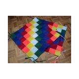 Banderas Wiphalas Pueblos Originarios 100cm Por 100cm
