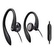 Auricular Deportivo Con Microfono Philips Shs3305bk Clip-ear