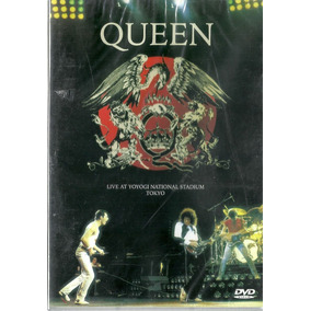 Dvd Queen Live At Yoyogi National Stadium Tokyo May 1985