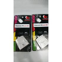 Adaptador De Controle De Ps2 P/ Nintendo Wii 02 Unidades