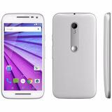 Celular Libre Motorola Moto G Turbo Blanco Cam 13mpx 16gb