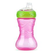Copo Treinamento Bebê Sem Alça Bico De Silicone 300ml Nûby