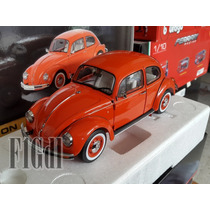 Vw Sedan Color Rojo Ultima Edición Marca Schuco Escala 1/18