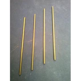 Kit De 4 Pinos Maciços De Latao Para Cutelaria 90 X 3,175mm