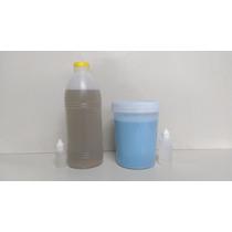 Resina Poliéster Cristal 1kg + Silicone Azul 1kg