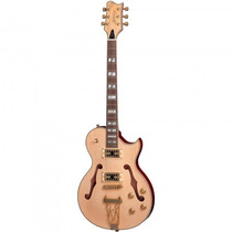 Guitarra Golden Gsh-570 Nt Les Paul Semiacústica + Capa